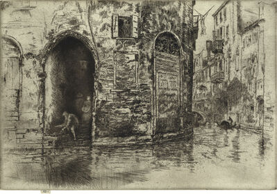 James A. M. Whistler, 'The Two Doorways', 1879-80