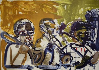 Romare Bearden, 'Brass Section from Jazz Series', 1979