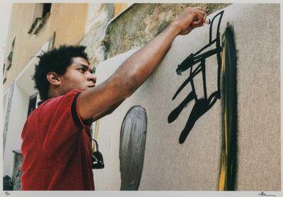 Lee Jaffe, 'Untitled (Jean-Michel Basquiat, working 1)', 1983