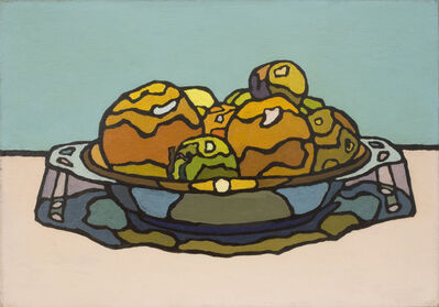 Cyril Mann, 'Dish of Fruit', ca. 1955