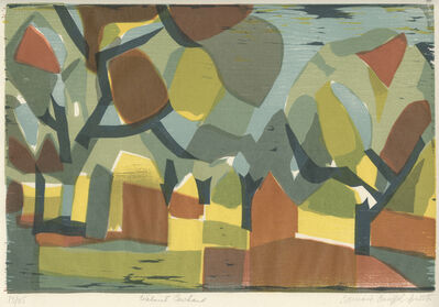 Bernard Brussel-Smith, 'Walnut Orchard', 1969
