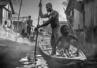 David Yarrow, 'A Ship Called Dignity', 2017