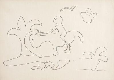 Tarsila do Amaral, 'Desenho Antropofágico de saci-pererê III', 1930