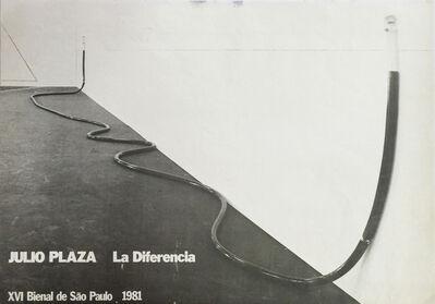 Julio Plaza, 'La Diferencia', 1981