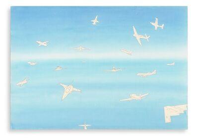 Alighiero Boetti, 'Cieli ad alta quota', 1989