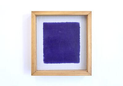 Goran Trbuljak, 'Untitled (painted from the back)', 1983