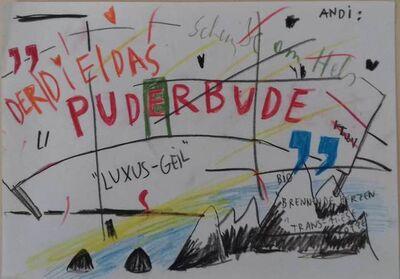 Ashley Hans Scheirl, 'Der/Die/Das Puderbude', 2010