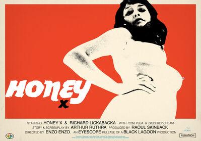 Jamie Hewlett, 'Honey X  (red)', 2015