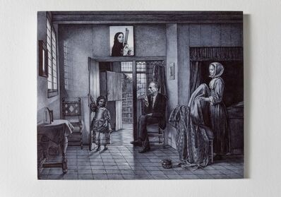 Giuseppe Stampone, 'Maria Crispal in her country house', 2019