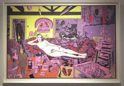 Grayson Perry, 'Reclining Nude ', 2017