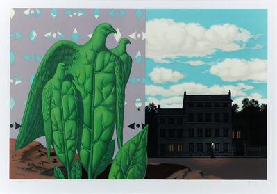 René Magritte, 'Les Grands Oiseaux sont Ceux de L'Ile au Trésor', 1968