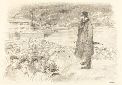 Jean-Louis Forain, 'Scene of a Strike (third plate)', ca. 1897