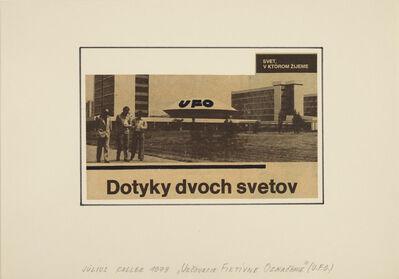Július Koller, 'Urcovacie Fiktivne Oznacenie (U.F.O.)', 1978