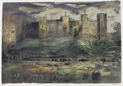 John Piper, 'Framlingham Castle', 1971