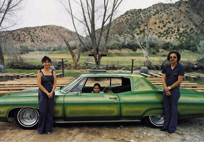 Meridel Rubenstein, 'Bad Company (Lowriders)', 1980