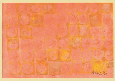 Brion Gysin, 'Composition', 1961
