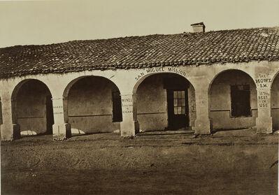 Carleton E. Watkins, 'San Miguel Mission', 1876-1880