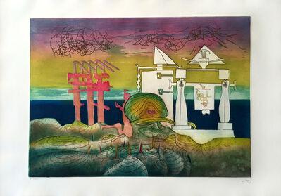 Roberto Matta, '8PM - L'Arc Obscur Des Heurs', 1975