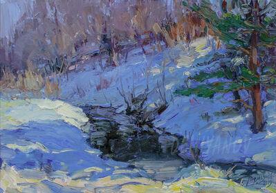 Yuriy Demiyanov, 'Ruisseau dans la forêt', 2019