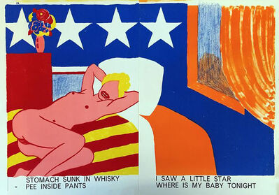 Tom Wesselmann, 'Tom Wesselmann untitled Nude Girl, (Tom Wesselmann One Cent Life)', 1964