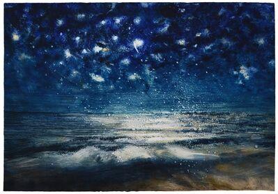 Bill Jacklin, 'Stars and Sea at Night XIX', 2016