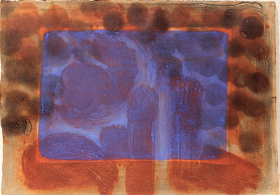 Howard Hodgkin, 'Blue Listening Ear', 1986