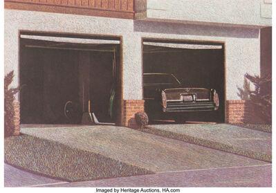 Robert Bechtle, 'Sunset Cadillac', 1987