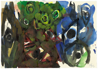 Ernst Wilhelm Nay, 'Untitled', 1963