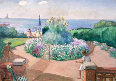 Henri Lebasque, 'Tennis sur la terrasse, Préfailles', 1992