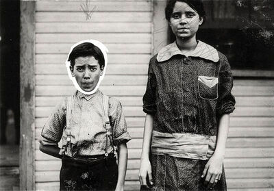 Lewis Wickes Hine, 'Brother and Sister', 1910c/1910c