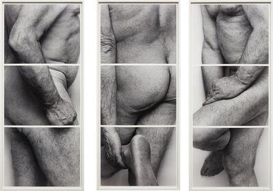 John Coplans, 'Self-Portrait, Frieze, No. 4, 3 Panels', 1994