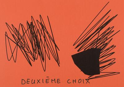 Claude Closky, 'Deuxième choix (rouge vermillon) (e)', 2020