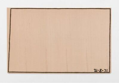 Bob Law, 'Mister Paranoia V 21.8.71', 1971
