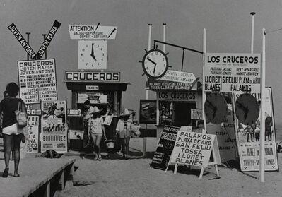 Xavier Miserachs, 'Playa de Tossa de Mar', 1965