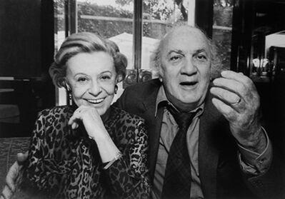Harry Benson, 'Federico Fellini and Giulietta Masina, Rome', 1992