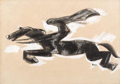 Mario Sironi, 'Illustrazione della novella I fantocci e Marilù di Rodolfo Cazzaniga', 1927