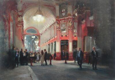 Michael Alford, 'Leadenhall Market, Weekday Evening', 2020
