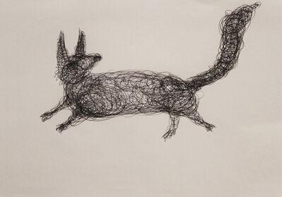 Paolo Canevari, 'Volpe/Fox', 1990