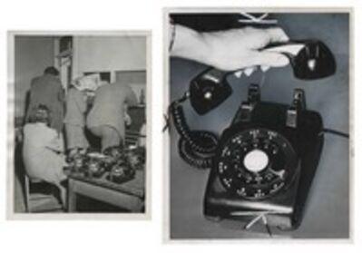 Murray Moss, 'TQ 71/72: Alleged Bookies Hide/Emergency Telephone', 1946/1969