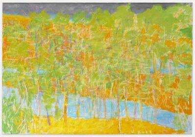 Wolf Kahn, 'Broken River ll', 2012