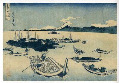 Katsushika Hokusai, 'Thirty-six Views of Mount Fuji, Tsukuda-jima [in Edo] in Musashi Province', 1830-1832