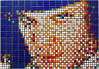Invader, 'Rubik Kubrik I - Alex', 2006