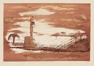 Sergio Vacchi, 'Landscape', 1980s