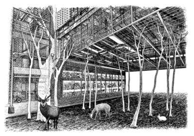 Oscar Oiwa, '9th Avenue, New York', 2020