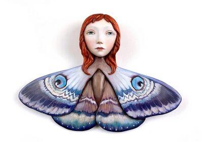 Zoe Thomas, 'Purple moth girl', 2021