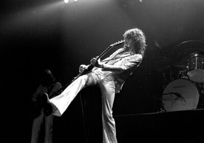 Richard E. Aaron, 'Led Zeppelin, Jimmy Page', 1977