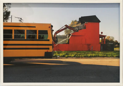 Amanda Williams, 'Color(ed) Theory Series: Flamin' Red Hots (Demolition Bus)', 2018