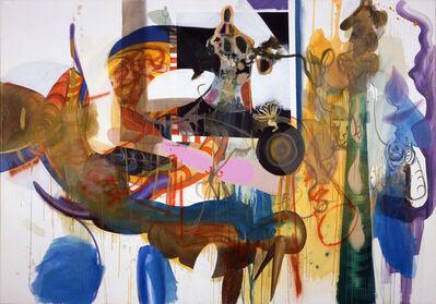 Albert Oehlen, 'Müllflasche', 2004