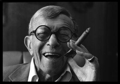Harry Benson, 'George Burns', 1988