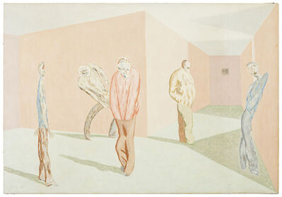 David Byrd, 'Waiting and Aging', 1989